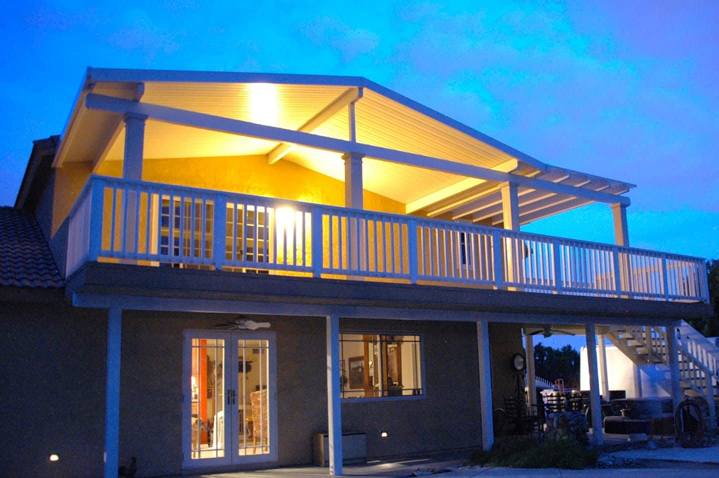 Alumashade DIY Solid Insulated Patio Cover Exterior